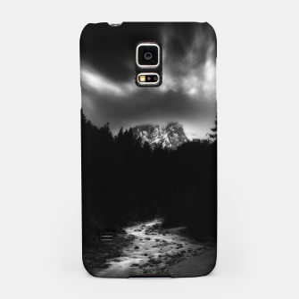 Miniaturka Dramatic landscape of mountains and river Samsung Case, Live Heroes