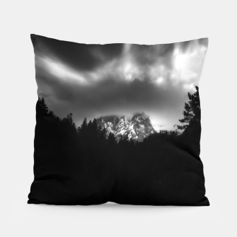 Thumbnail image of Dramatic landscape of mountains and river Pillow, Live Heroes