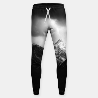 Miniaturka Storm clouds and sun over mountains Sweatpants, Live Heroes