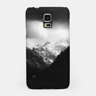 Miniaturka Storm clouds and sun over mountains Samsung Case, Live Heroes