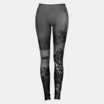 Miniatur Light and darkness at mountains Leggings, Live Heroes