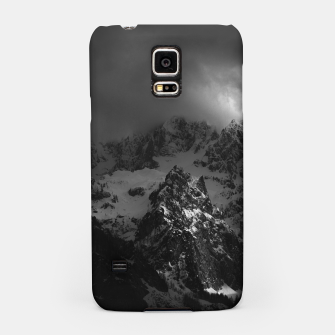 Miniatur Light and darkness at mountains Samsung Case, Live Heroes