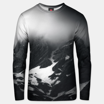 Thumbnail image of The mystery of the mountain Unisex sweater, Live Heroes