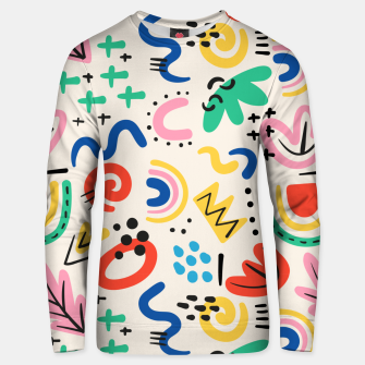 Thumbnail image of abstract Unisex sweater, Live Heroes