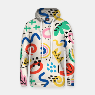 Thumbnail image of abstract Hoodie, Live Heroes