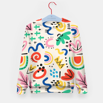 Thumbnail image of abstract Kid's sweater, Live Heroes