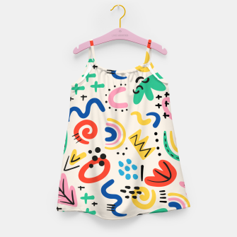 Thumbnail image of abstract Girl's dress, Live Heroes