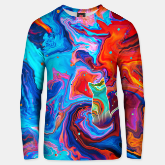 Thumbnail image of Trippy Cat Unisex sweater, Live Heroes