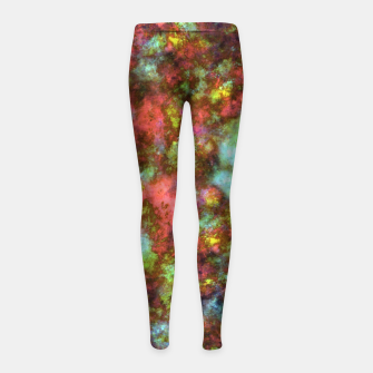 Thumbnail image of Pieces Girl's leggings, Live Heroes