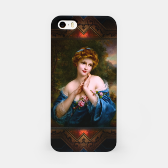 Thumbnail image of A Summer Rose (The Golden Peaks) by François Martin-Kavel Vintage Art Xzendor7 Old Masters Reproductions iPhone Case, Live Heroes