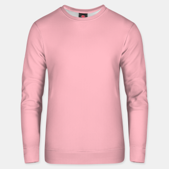 Thumbnail image of Pastel pink cotton candy summer stylish color pure soft light monochrome Unisex sweater, Live Heroes