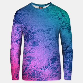 Thumbnail image of Marble gradient pattern Unisex sweater, Live Heroes