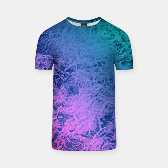 Thumbnail image of Marble gradient pattern T-shirt, Live Heroes