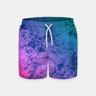 Thumbnail image of Marble gradient pattern Swim Shorts, Live Heroes