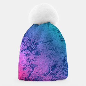 Thumbnail image of Marble gradient pattern Beanie, Live Heroes