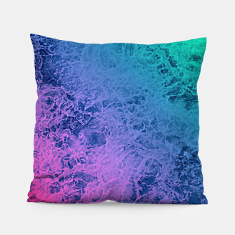 Thumbnail image of Marble gradient pattern Pillow, Live Heroes