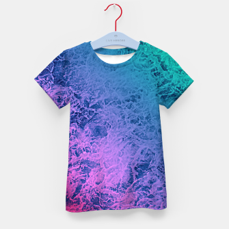 Thumbnail image of Marble gradient pattern Kid's t-shirt, Live Heroes