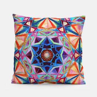 Thumbnail image of Tesseract Star 2 Pillow, Live Heroes