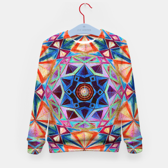 Thumbnail image of Tesseract Star 2 Kid's sweater, Live Heroes