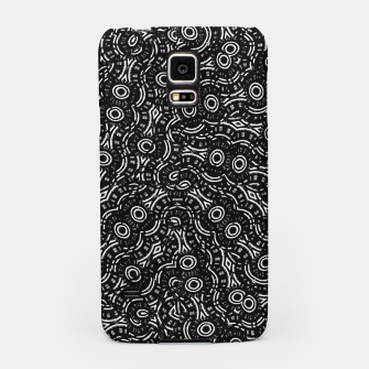 Thumbnail image of Black and White Modern Ornate Pattern Samsung Case, Live Heroes