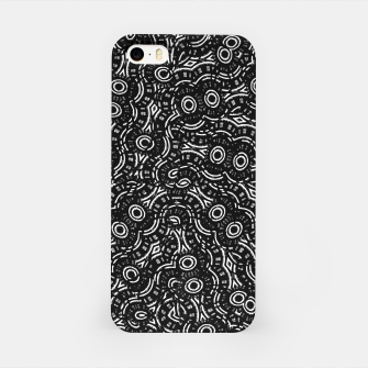 Thumbnail image of Black and White Modern Ornate Pattern iPhone Case, Live Heroes
