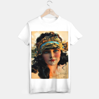 Thumbnail image of A Lovely Boudoir Bandeau On A 1920s Beauty by Rolf Armstrong Vintage Fine Art Xzendor7 Old Masters Reproductions T-shirt regular, Live Heroes