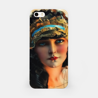 Thumbnail image of A Lovely Boudoir Bandeau On A 1920s Beauty by Rolf Armstrong Vintage Fine Art Xzendor7 Old Masters Reproductions iPhone Case, Live Heroes