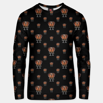 Thumbnail image of Funny Ugly Bird Drawing Print Pattern Unisex sweater, Live Heroes