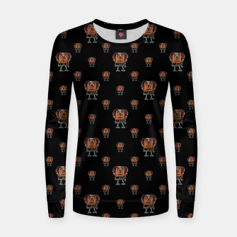 Thumbnail image of Funny Ugly Bird Drawing Print Pattern Women sweater, Live Heroes