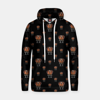 Thumbnail image of Funny Ugly Bird Drawing Print Pattern Hoodie, Live Heroes